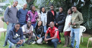 Youth from South Africa